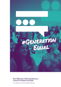 2019 Report and Recommendations - #GenerationEqual